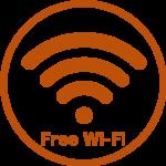 客室・ロビー・レストランで無料Wi-Fiがご利用頂けます