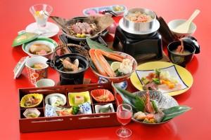 インバウンド 夕食 和食会席膳01