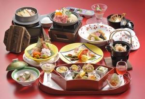 夕食 和食会席膳 旬彩膳01
