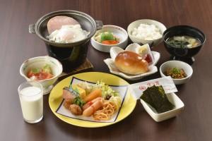 修学旅行 朝食01