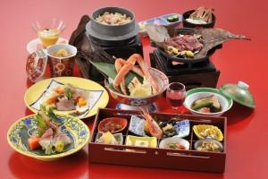 夕食 和食会席膳 遊華の宴01