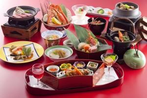 夕食 和食会席膳 彩花膳01