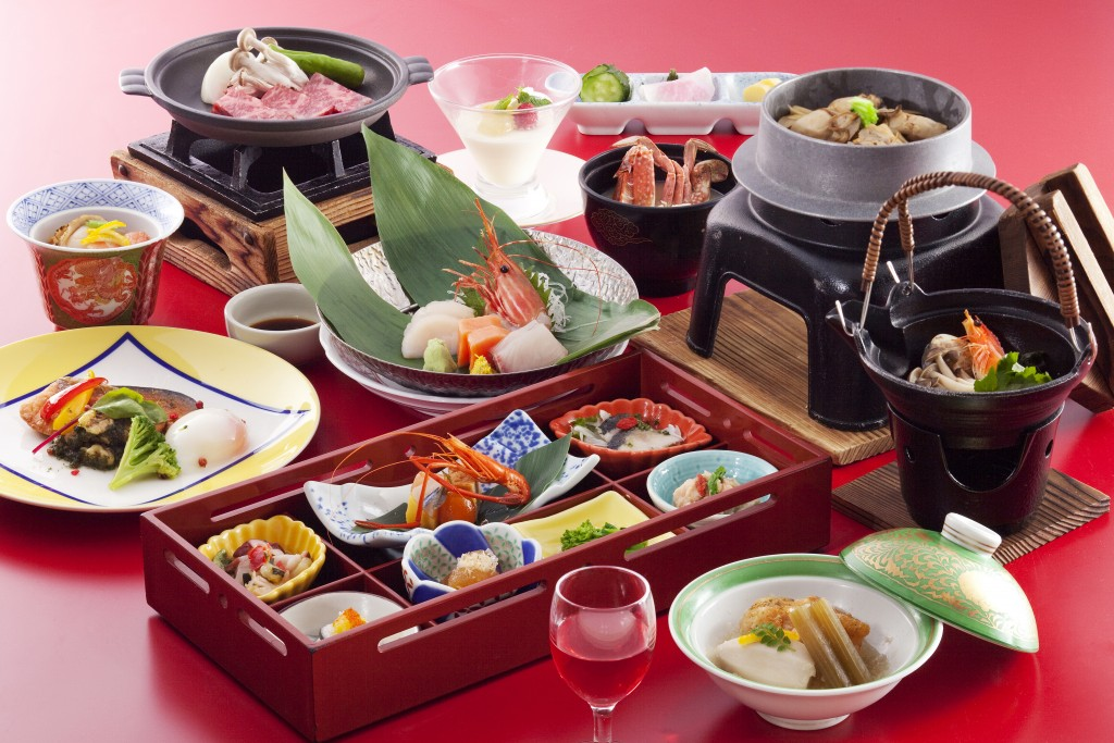 夕食 和食会席膳 彩宝膳01