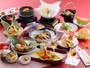 夕食 和食会席膳 福寿の宴01